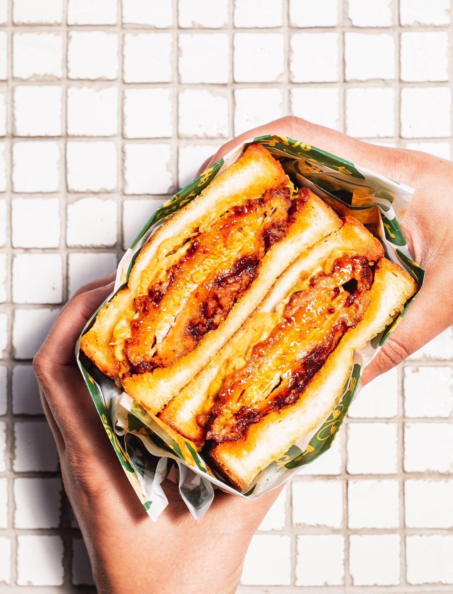 Saucy Sandwich