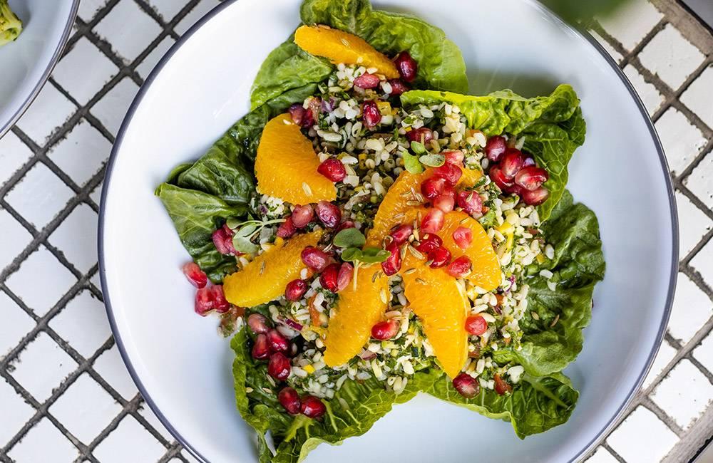 Sweet Eastern Salad